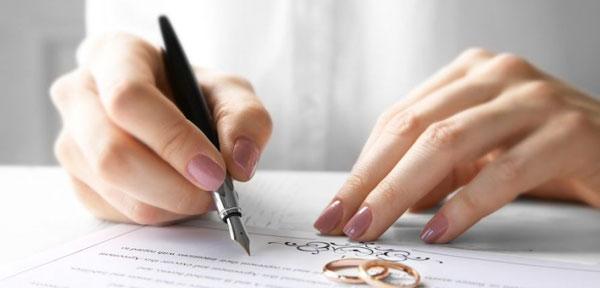شروط ضمن عقد برای طلاق